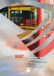 WAT Catalogus materieel openbaar vervoer - KpVV