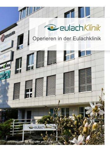 Operieren in der Eulachklinik
