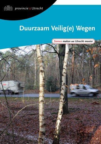 Duurzaam Veilig(e) Wegen, januari 2009 - Provincie Utrecht