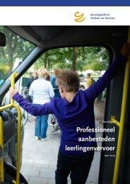 Professioneel aanbesteden leerlingenvervoer - KpVV
