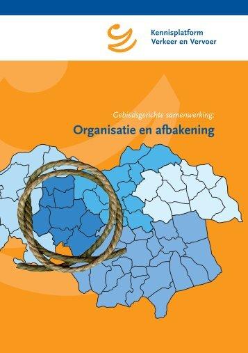Organisatie en afbakening - KpVV
