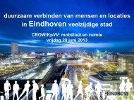 Jan Willem Hommes (gemeente Eindhoven) - presentatie - KpVV