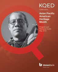 Asian Pacific American Heritage Month - KQED