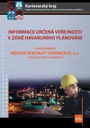 informace určená veřejnosti v zóně havarijního ... - Karlovarský kraj