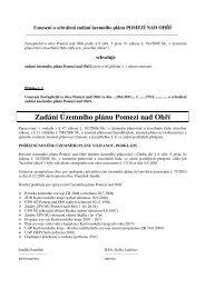 Zadání Územního plánu Pomezí nad Ohří - Karlovarský kraj