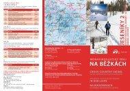 Lyžařské běžecké trasy - Moravskoslezský kraj