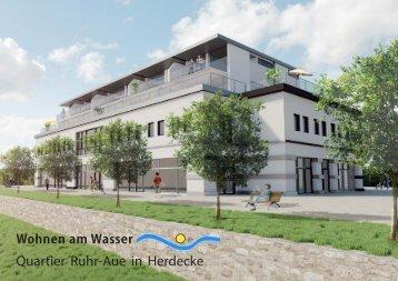 Wohnen am Wasser Quartier Ruhr-Aue in Herdecke