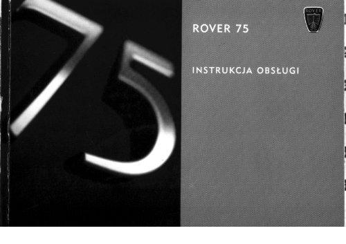 Instrukcja Rover 75