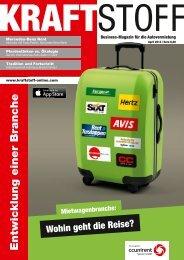 Entwicklung einer Branche - Kraftstoff – Business-Magazin für die ...