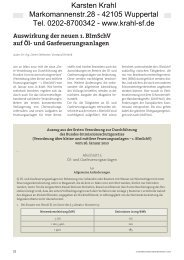 Bericht 1 - Karsten Krahl
