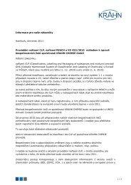 Dodatek - Krahn Chemie GmbH