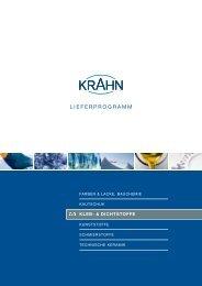 LIEFERPROGRAMM - Krahn Chemie GmbH