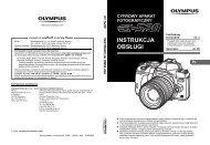 Instrukcja obsługi aparatu Olympus E-510