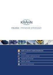 POLSKA | PROGRAM SPRZEDAÅ»Y - Krahn Chemie GmbH