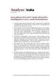 2015-planen fra 2007 ramte plet på beskæftigelsen i 2011 - Kraka