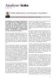 Jakob Roland Munch: Hvilke uddannelser er der brug for i ... - Kraka
