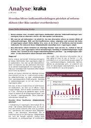 Hvordan bliver indkomstfordelingen påvirket af reformskitsen - Kraka
