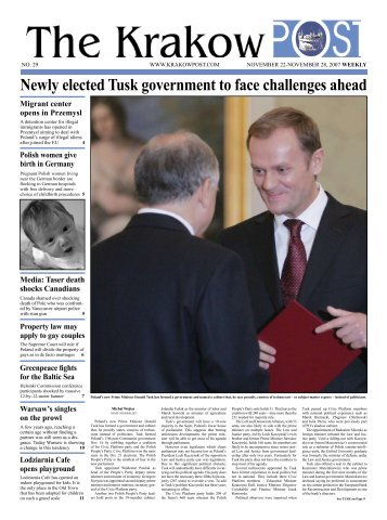 Newly elected Tusk government to face challenges ... - Krakow Post