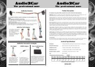 EN163 A2C 84063 Audi A6 with BOSE sound system.pub