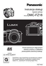Instrukcja obslugi DMC-FZ18 - Panasonic.pdf