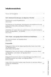 Soziale Arbeit mit psychisch kranken Kindern und ... - Buecher.de