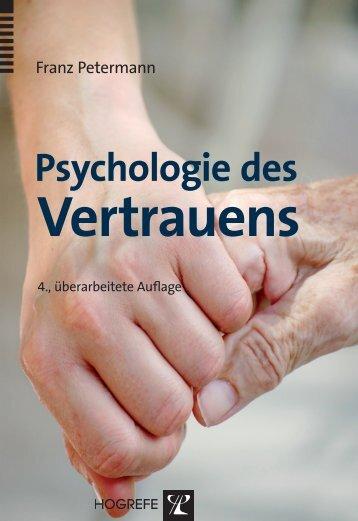 Psychologie des Vertrauens - Krammer