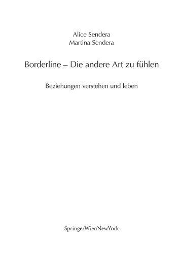 Borderline – Die andere Art zu fühlen - Krammer