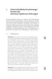 formen der Autismus-Spektrum-Störungen - Ernst Reinhardt Verlag