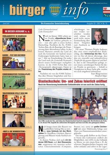 03/2007 Nr. 15 - Gemeinde Kramsach