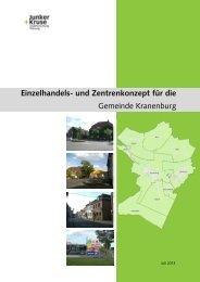 Einzelhandels- und Zentrenkonzept für die Gemeinde Kranenburg