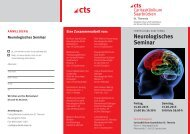 Neurologisches Seminar - Caritasklinik St. Theresia