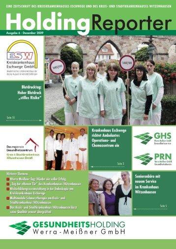 Krankenhaus Eschwege richtet Ambulantes Operations- und ...