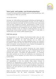 Vom Land - Kreiskrankenhaus Eschwege GmbH » Home »