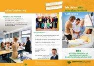 Wir bieten eine zukunftsorientierte Ausbildung IfGK zukunftsorientiert