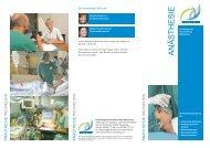 A N Ä S T H E S IE - Dreifaltigkeits-Krankenhaus Wesseling