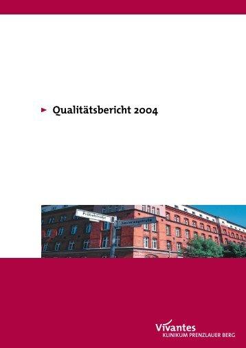 Qualitätsbericht 2004 Vivantes Klinikum ... - Krankenhaus.de
