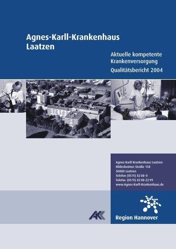 Agnes-Karll-Krankenhaus Laatzen - Krankenhaus.de