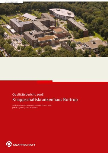 strukturierter Qualitätsbericht 2008 (PDF: 2,91 MB) - Kliniken.de