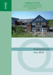Qualitätsbericht 2010 - Kliniken.de