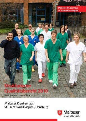 Strukturierter Qualitätsbericht 2010 - Kliniken.de