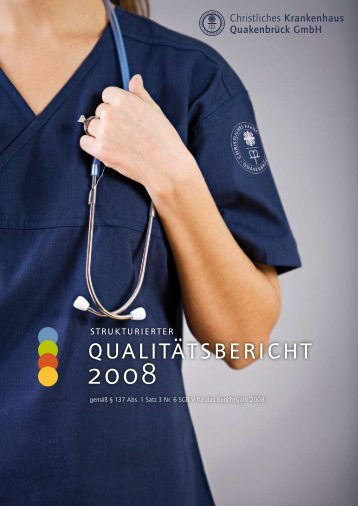qualitätsbericht 2008 - Krankenhaus.de