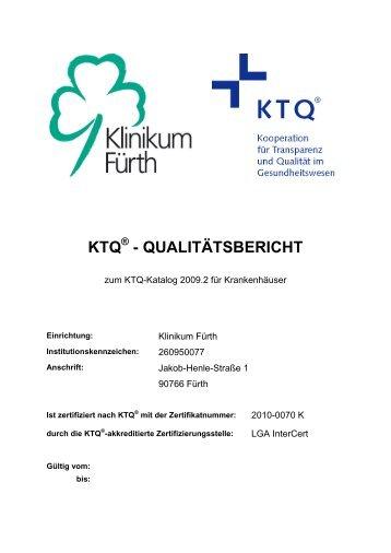 KTQ - QUALITÄTSBERICHT - Krankenhaus.de