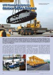 UTC Heavy Equipment - KRANMAGAZIN