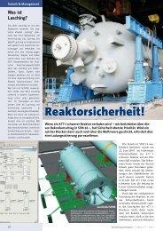 Reaktorsicherheit! - KRANMAGAZIN