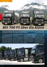 Mit 700 PS über die Alpen - Kranmagazin.de