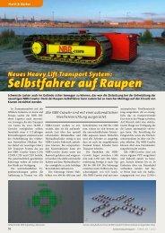 Selbstfahrer auf Raupen - Kranmagazin.de