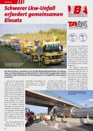 Schwerer Lkw-Unfall erfordert gemeinsamen ... - KRANMAGAZIN