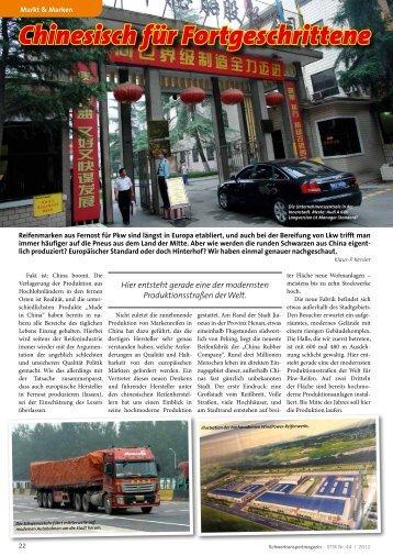 Chinesisch für Fortgeschrittene - Kranmagazin.de