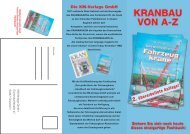 Die KM-Verlags GmbH - Kranmagazin.de