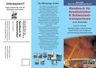 Handbuch für Kranbetreiber & Schwerlast ... - Kranmagazin.de
